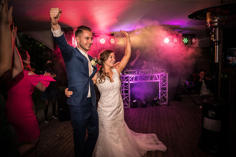 Feestavond bruiloft